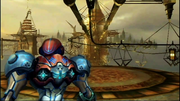 MP3 Samus arrives to SkyTown