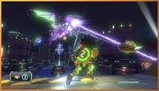 Ridley en Metroid Blast