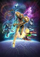 Arte promocional de Metroid Prime 3