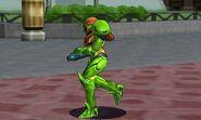 Green Samus SSB4 3DS