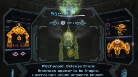 Metroid Prime 3 Corruption - Defense Drone