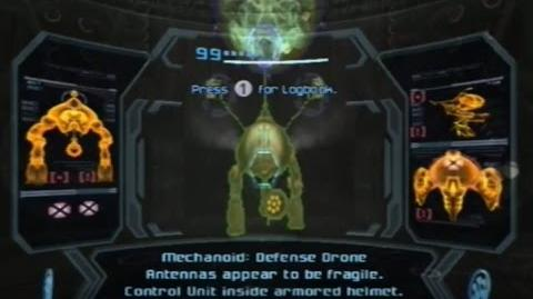 Metroid Prime 3 Corruption - Defense Drone