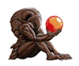 Brawl Sticker Chozo Statue (Metroid II)