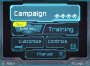 Customize option on main menu