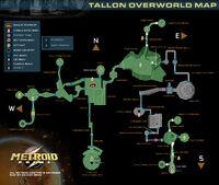 Metroidprime map tallon