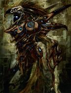 Chozo Concept Art Metroid Prime