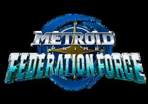 Metroid Prime Federation Force logo mpff