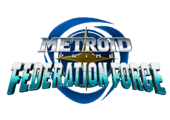 Metroid Prime Federation Force logo mpff