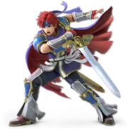SSB Ultimate Roy render