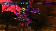 Samus grasped by Ridley Plasma Beam charge Geothermal Power Plant Pyrosphere HD
