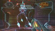 Samus enfrentándose a una matriz metroide