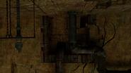 Muro sobre el corredor beta en la Galería en Ruinas MP