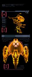 Robot de Defensa escaneo derecha mp3c
