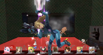 Screen KO Zero Suit Samus