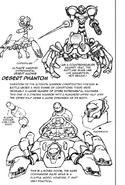 Bocetos Fantasma del Desierto y Tanque Samus SyJ