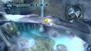 Ice tunnel Morph Ball Cryosphere HD