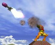 Samus Missile Super Smash Bros Melee Gameplay