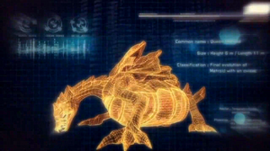 Queen Metroid hologram picnik