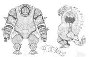 Ben Sprout sketch bryyonian golem 2