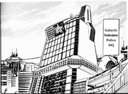Cuartel General de la Federación Galáctica manga