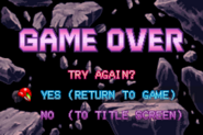 Game Over Screen MZM