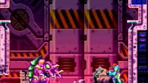 Metroid Fusion - Arachnus X
