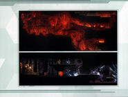 MSR Artbook lava and mining cavern
