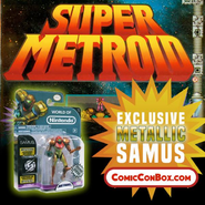 Exclusive Metallic Samus figure