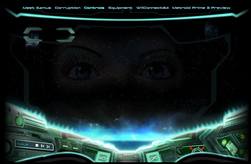 The music player is a feature in samus arans gunship on the uk website for metroid prime 3 corruption 1 it has 13 tracks from the game and when samuss