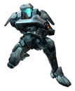 Brawl Sticker Federation Trooper (Metroid Prime 2 Echoes)