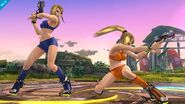 Samus Zero bikini SSB WiiU