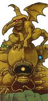 Golden Statue (concept art)