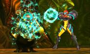 Metroid Samus Returns Metroid Egg (Stage 1) The Last Metroid is Born! (Cutscene)