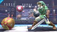 Samus y Link SSB4 (Wii U)
