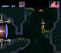 Ripper en Super Metroid