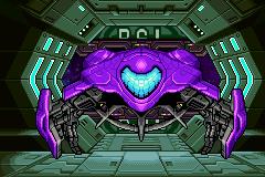Samus's Metroid Fusion gunship