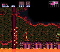 Gamets en Super Metroid