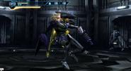 Samus luchando contra un zebesiano robot1
