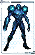 Dark Samus Design Front MP2