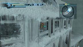 Frozen corridor external view Cryosphere HD