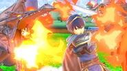 SSB Ultimate Ridley has Marth barbecue