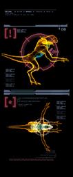 Cazador Reptilicus escaneo derecha mp3c