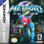 Metroid Fusion box art