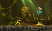 Metroid Samus Returns Metroid (Stage 4) Alpha Metroid VS Samus (Cutscene)