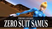 SSBB E3 2006 - Newcomer Zero Suit Samus