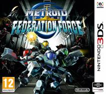 Metroid Prime Federation Force - Boxart PAL