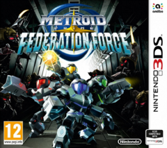 Metroid Prime Federation Force - Boxart PAL