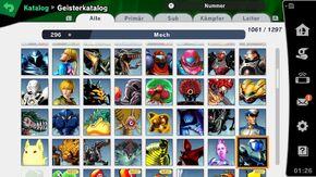 Metroid Spirits in Smash Ultimate