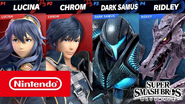 Ridley and Dark Samus SSBU gameplay thumbnail