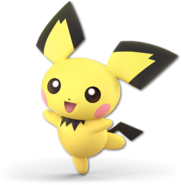 SSB Ultimate Pichu render
